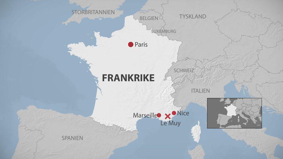 karta över södra frankrike Omkomna kvinnan i Frankrike var från Gävle | SVT Nyheter karta över södra frankrike