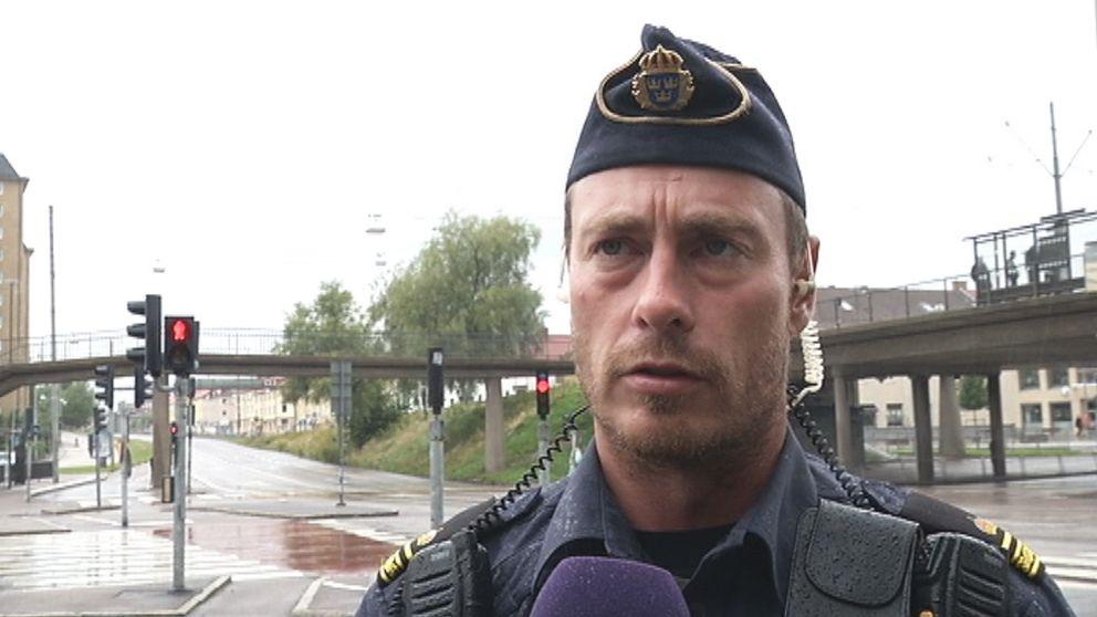Polisen Tony Olsson