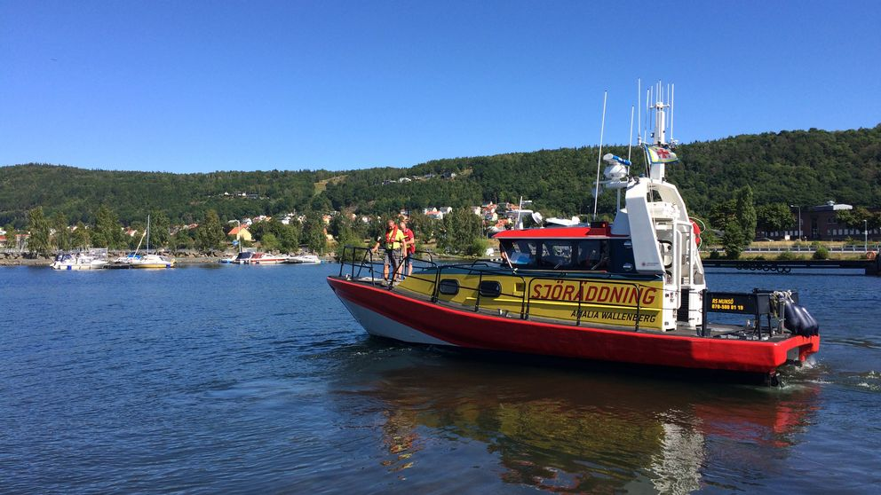 Sjöräddningsbåt visingsö