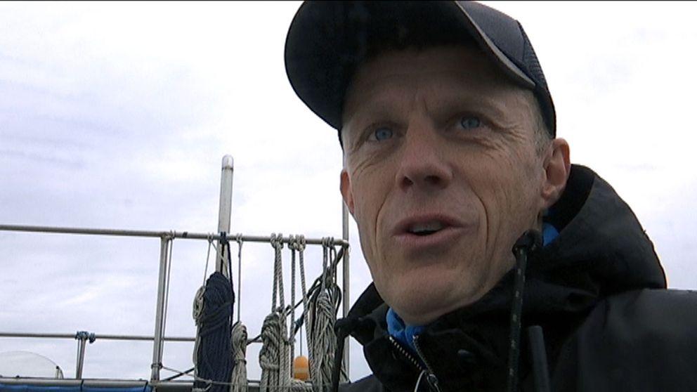 Jan Christensen, projektledare för bärgningen