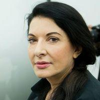 Performancekonstnären Marina Abramović.
