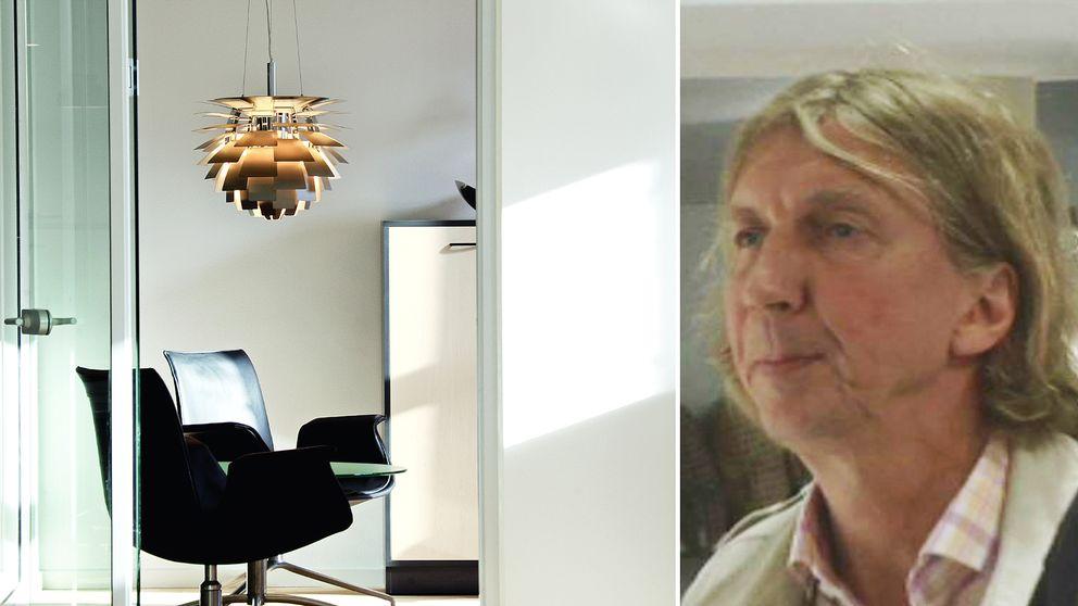 Lennart Nyberg ville göra designmöbler till hela folket, men nu åtalas hans företag för för brott mot upphovsrättslagen och varumärkesintrång.