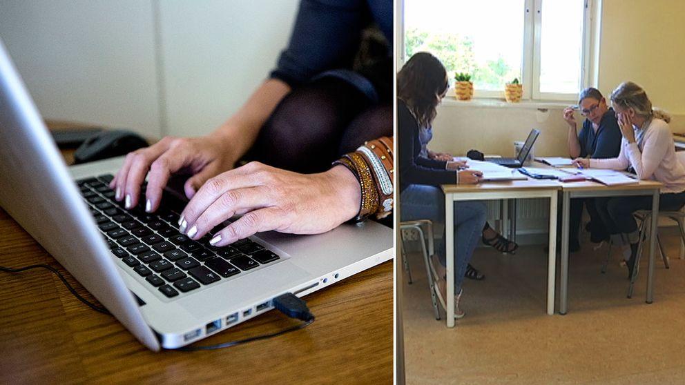 Reklam på nätet ska locka lärare till glesbygdskolor.
