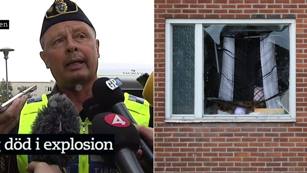 Polis Goteborg Explosion Lagenhet Svt Nyheter