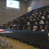 Föreläsningssal på Malmö Högskola