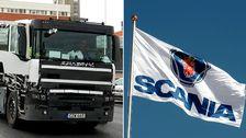 Forskare ställer sig frågan om det här kan vara den sista med den, i branschen, så uttalade - unika - Scania-känslan. Bilden visar en prototyp av lastbilen.