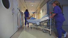 sjuksköterskor på språng