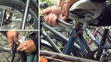 Olika sätt att säkra sin cykel