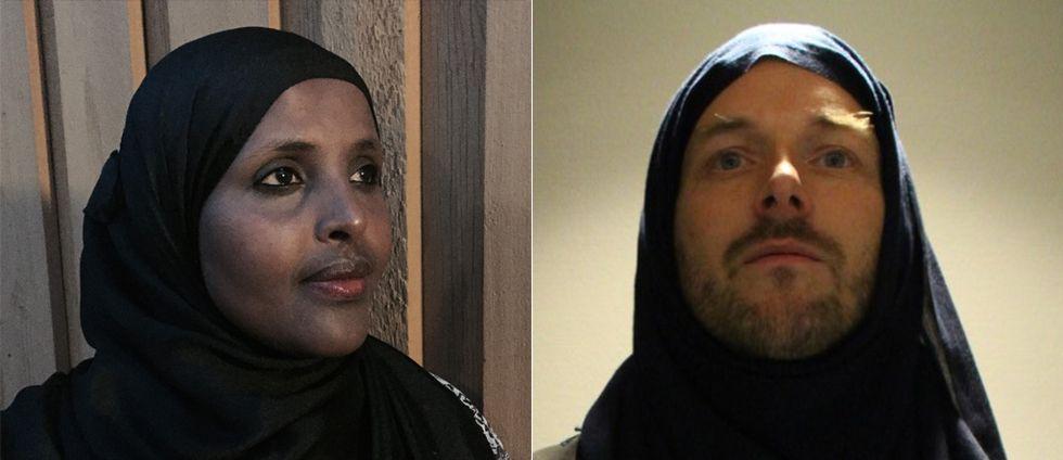 """Aktivisterna #minhijab Ayaan Goobe och Take Aanstoot: """"De kvinnor som fritt har valt att bära hijab måste ha samhällets stöd."""""""