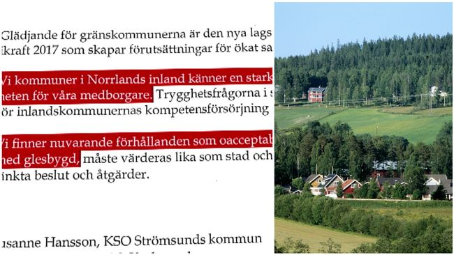 Politiker i Norrland kräver fler poliser