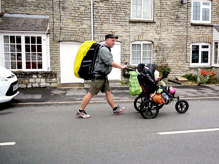 Mannen med barnvagnen