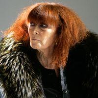 Modeskaparen Sonia Rykiel.