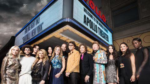 Svenska artister på Apolloe Theater i New York.