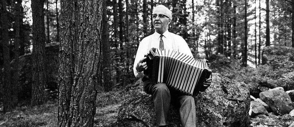 Carl Jularbo i skogen