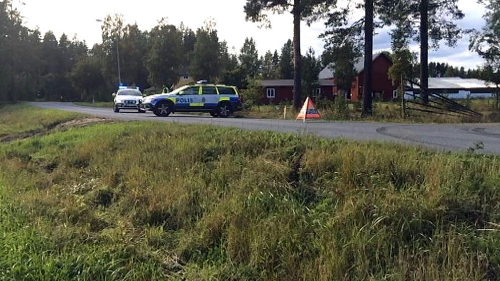 polisbilar olycka
