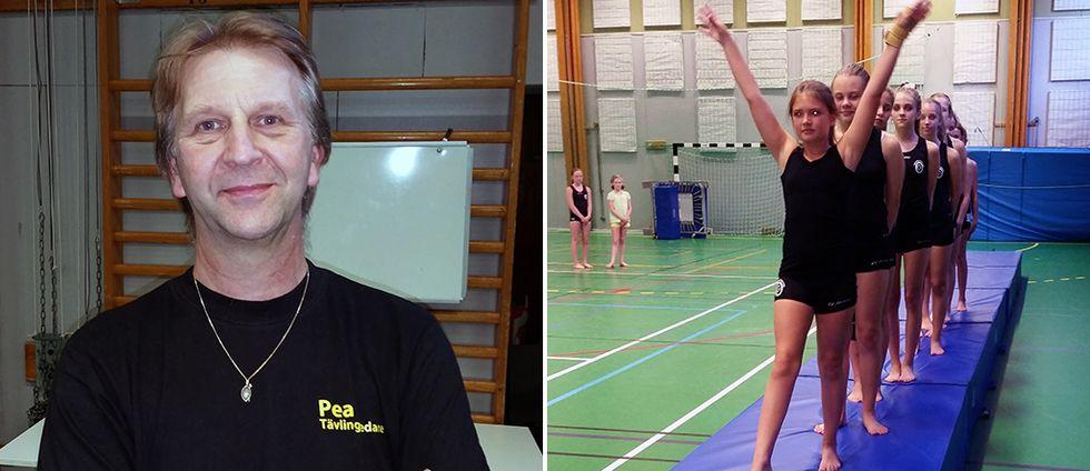 Peo Sopo och gymnaster