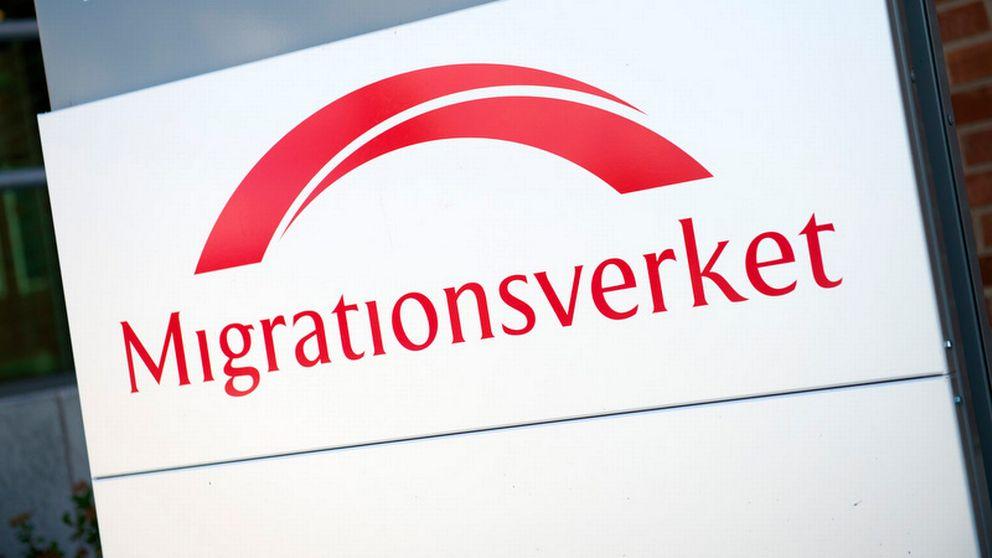 Migrationsverket, skylt.