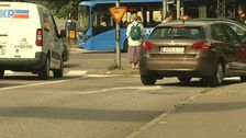 Bilar i stadstrafik