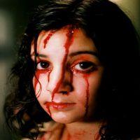 """Ur """"Låt den rätte komma in"""" från 2008.Lina Leandersson som spelar vampyren Eli i """"Låt den rätte komma in"""" från 2008."""