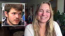 Camilla Gisslow låter gärna studenten Sascha Simon från Tyskland bo hemma hos henne och pojkvännen.