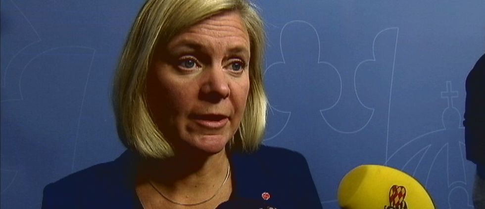 Intervju med finansminister Magdalena Andersson.