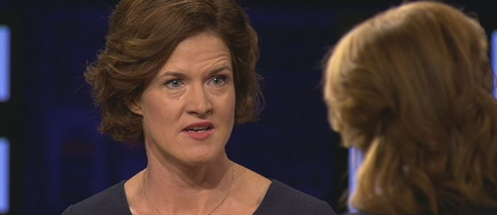 Moderaternas partiledare Anna Kinberg Batra.