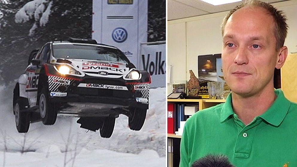 Glenn Olsson, Rally Sweden