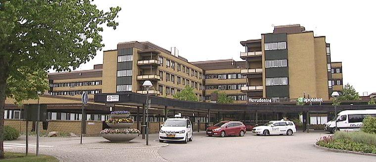 NÄL sjukhus i Trollhättan, huvudentré