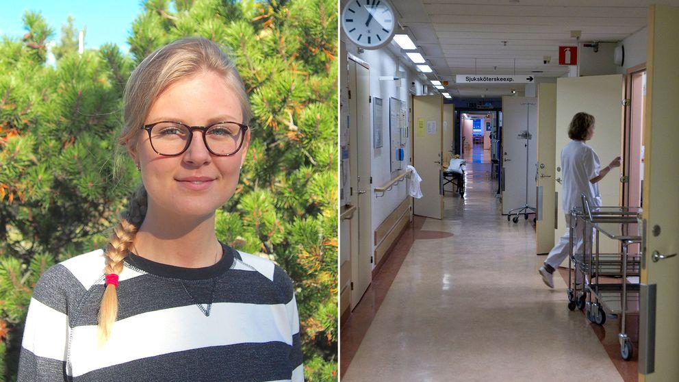 Kristin Arthur, vice ordförande SYLF Stockholm.