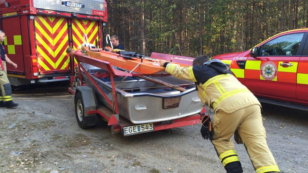 Räddningstjänsten.
