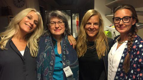 Ann Söderlund, Liria Ortiz, Ann-Linn Guillou och Sanna Lundell chattade med tittarna.