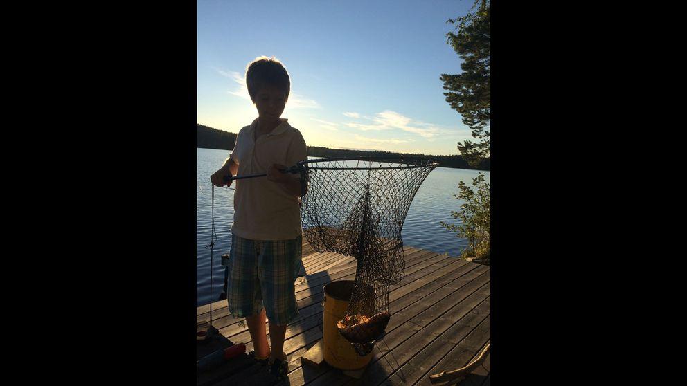 fiske, pojke