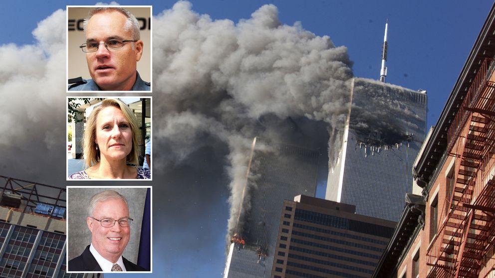 Ken Dennis, Anneli Nilsson och Jack Brown har tillsammans med ett oräkneligt antal andra amerikaner en sak gemensamt: terrorattackerna 11 september 2001 försvinner aldrig ur deras minnen.