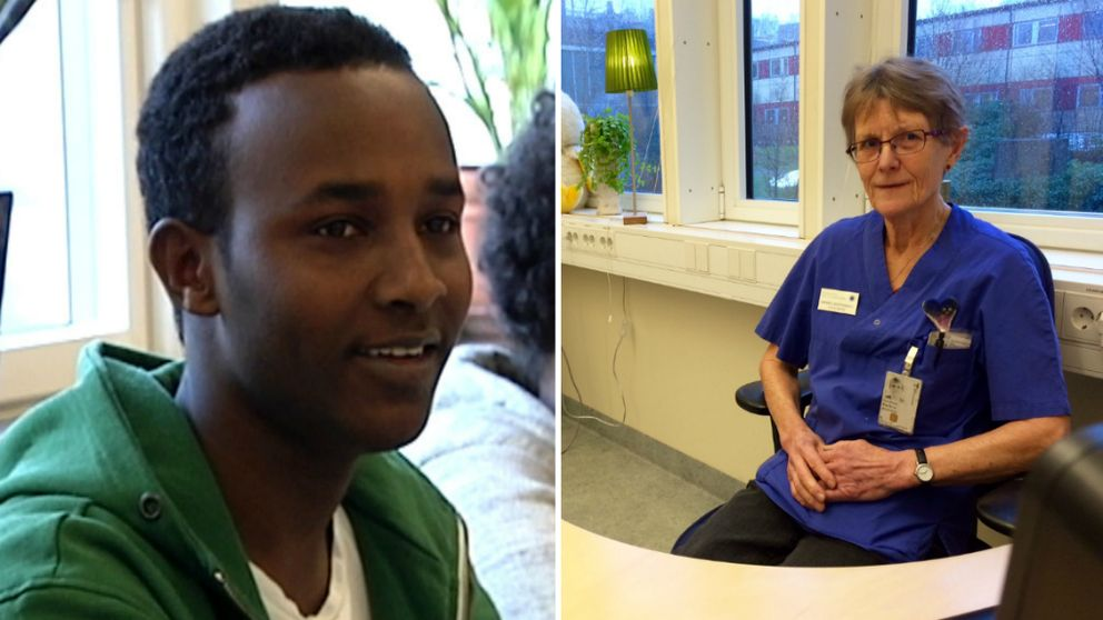 – Det finns ingen möjlighet att han är 20 år, säger överläkaren Barbro Westerberg om Sharmaki Abubacar.