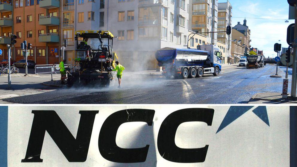 NCC och asfaltsläggning
