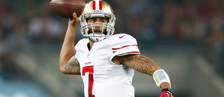 Colin Kaepernick, San Franciscos quarterback.