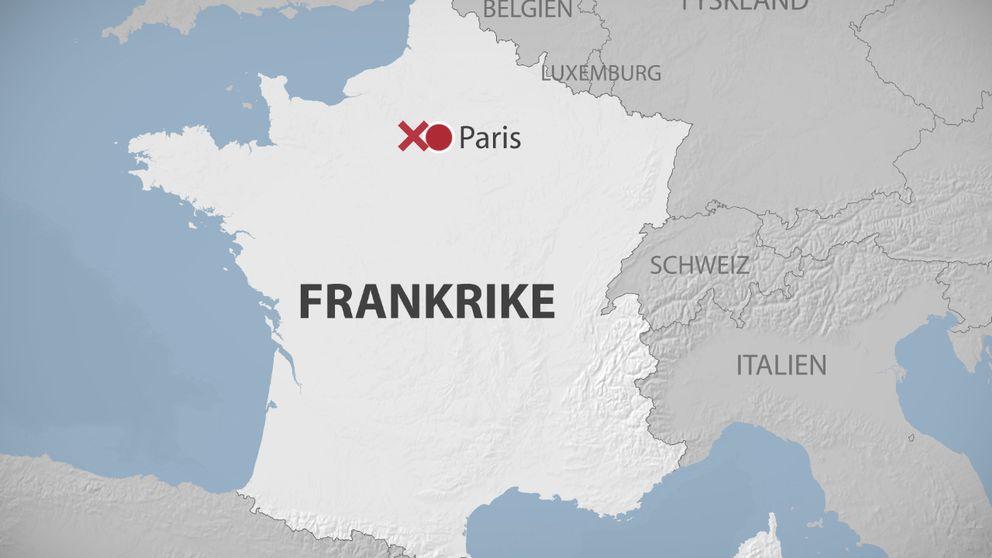 karta på frankrike Skottlossning i Frankrike | SVT Nyheter karta på frankrike