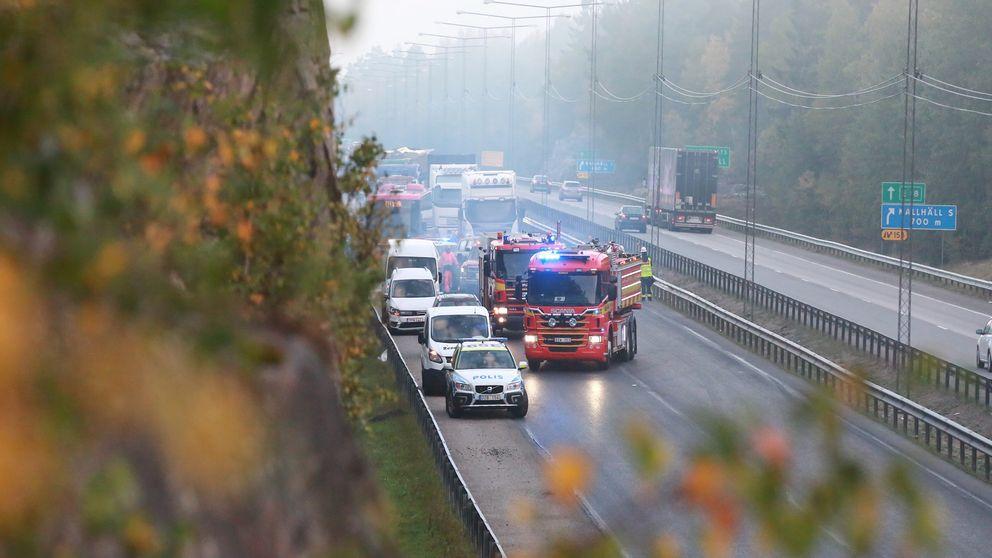 trafikolycka e18