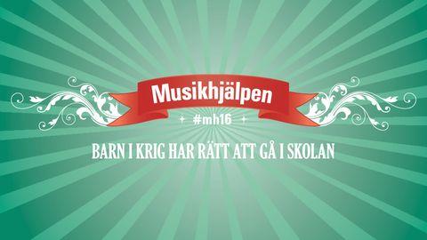 Musikhjälpens logotyp med temat för 2016.