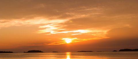 Magisk soluppgång i Gävle 2016.09.26