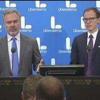 Björklund och Persson presenterar Liberalernas skuggbudget