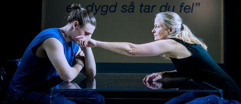 Premiär för Tyst Teaters nya föreställning