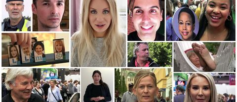 Rörliga debattinlägg på SVT Opinion.