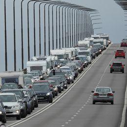 Bilkö på Ölandsbron