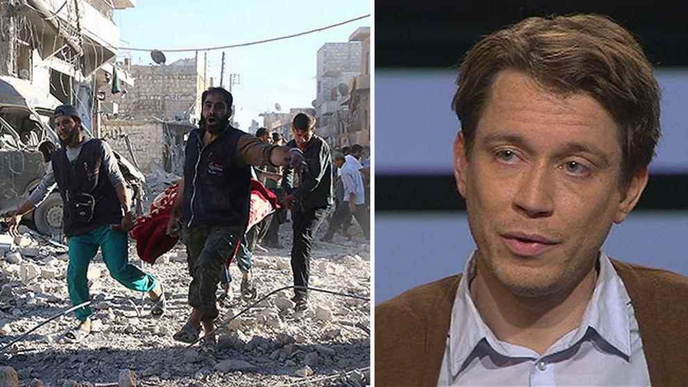 Syrienkännaren Aron Lund