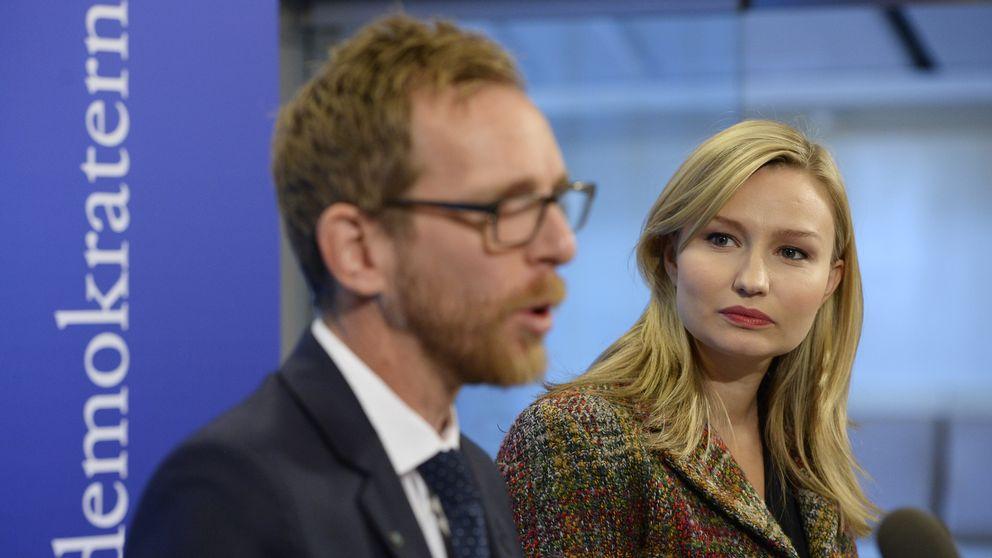 Jakob Forssmed (KD) och Ebba Busch Thor (KD)