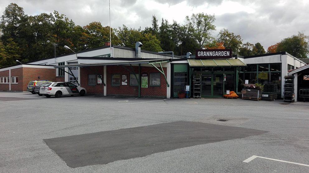 Väpnat rån mot Granngården.