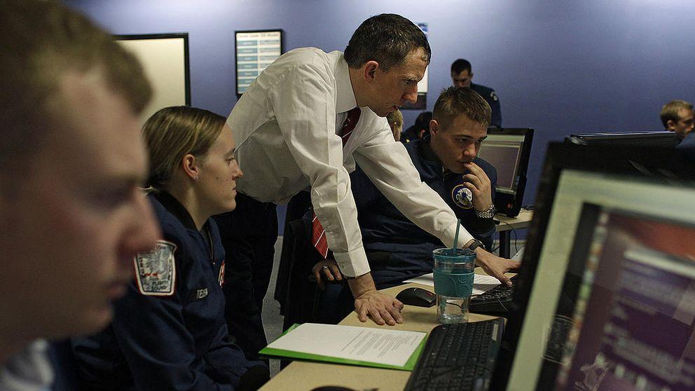 träning inför cyberkrig