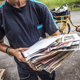Posten, Peter Eriksson, brevbärare