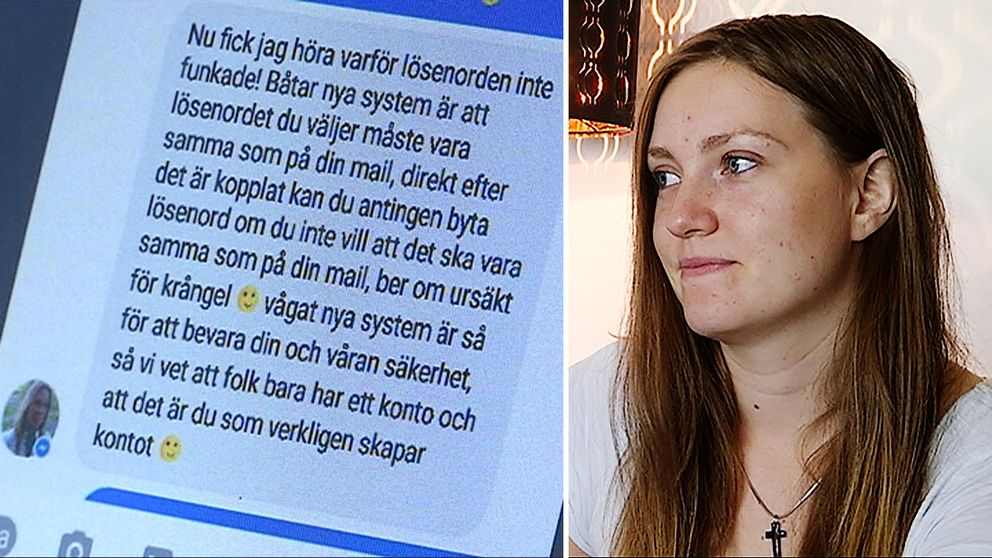 Chattkonversation. Telma Gudbjörnsdottir.